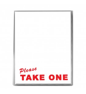 BOX08 PANEL - PLEASE TAKE ONE
