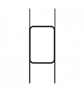 COROPLAST HOLDER 28.5in - 7in PRONG H