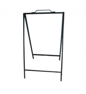 ANGLE IRON A-FRAME 36 X 24 42IN BLACK