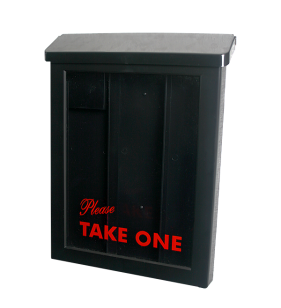 ULTIMATE BROCHURE BOX BLACK