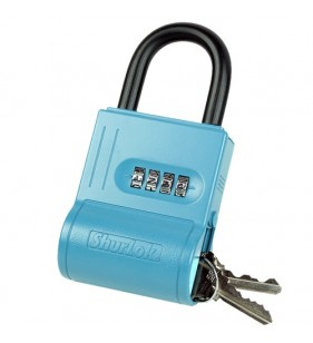 BLUE SHURLOK LOCKBOX HOLDS UP TO 6KEYS