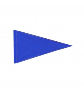 SOLID BLUE NYLON FLAG