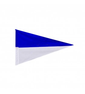 TWO COLOR NYLON FLAG (BLUE & WHITE)