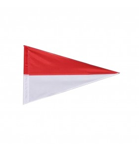 TWO COLOR NYLON FLAG (RED & WHITE)