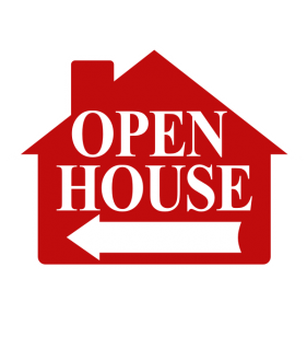 HOUSE SHAPE RED OPEN HOUSE NO FRM